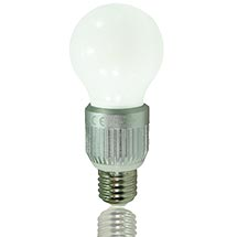 LED-Birne matt E27 9 Watt, copyright PolyTrade GmbH, alle Rechte vorbehalten