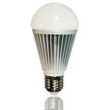 LED-Birne matt E27 12 Watt dimmbar, copyright PolyTrade GmbH, alle Rechte vorbehalten