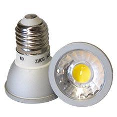 LED-Spot E27 COB2 6 Watt dimmbar, copyright PolyTrade GmbH, alle Rechte vorbehalten