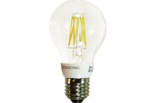 LED-Glühfadenbirne E27 klar  6,5 Watt dimmbar – 4000401