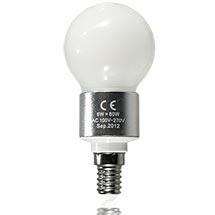 LED-Birne matt E14 6 Watt, copyright PolyTrade GmbH, alle Rechte vorbehalten