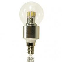 LED-Birne E14 klar 6 Watt dimmbar – 4010202