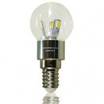 LED-ILLO Birne E14 klar 3 Watt dimmbar – 4010301
