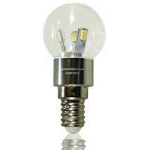 LED-ILLO Birne klar E14 3 Watt, copyright PolyTrade GmbH, alle Rechte vorbehalten