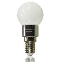 LED-ILLO Birne matt E14 3 Watt, copyright PolyTrade GmbH, alle Rechte vorbehalten