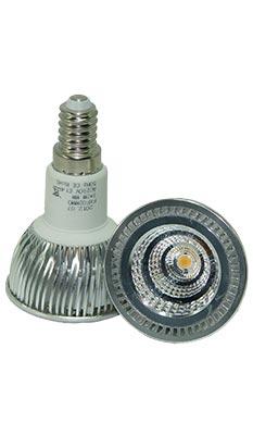 LED-Spot E14 6 Watt dimmbar, copyright PolyTrade GesmbH, alle Rechte vorbehalten