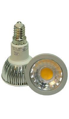 LED-Spot E14 dimmbar 6 Watt, copyright PolyTrade GesmbH