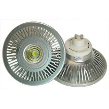 LED-Spot AR111 - GU10 - 12 Watt dimmbar, copyright PolyTrade GmbH, alle Rechte vorbehalten
