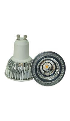 LED-Spot GU10, matt, 6 Watt, dimmbar, copyright PolyTrade GesmbH