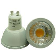 LED-Spot GU10 matt 6 Watt dimmbar, copyright PolyTrade GesmbH, alle Rechte vorbehalten