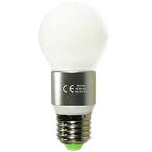 LED-Birne-matt-E27, copyright PolyTrade GesmbH, alle Rechte vorbehalten