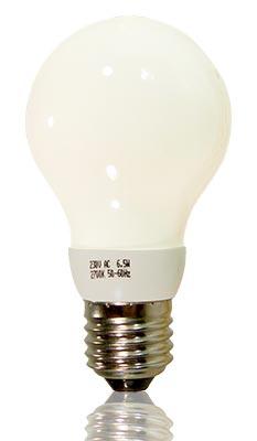 LED-Glühfadenbirne E27 matt 6,5 Watt dimmbar, copyright PolyTrade GesmbH, alle Rechte vorbehalten