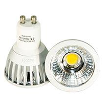 LED-Spot GU10  7 Watt, copyright PolyTrade GesmbH, alle Rechte vorbehalten