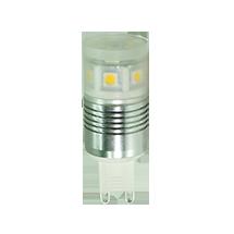 LED-Stiftsockel G9, copyright PolyTrade GesmbH, alle Rechte vorbehalten