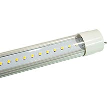 LED-Röhre-T8, transparent, copyright PolyTrade GesmbH, alle Rechte vorbehalten