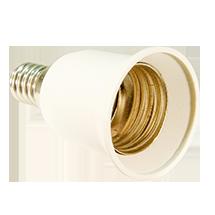 Adapter-E14-E27, copyright PolyTrade GesmbH, alle Rechte vorbehalten