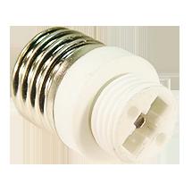 Adapter-E27-G9, copyright PolyTrade GesmbH, alle Rechte vorbehalten