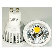 GU10-LED-Strahler, copyright PolyTrade GesmbH, alle Rechte vorbehalten